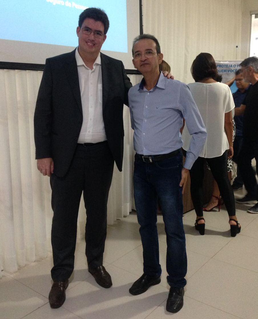 Grupo MBM_Bahia3 Executivo Mota com Antonio Jorge, presidente do Clube